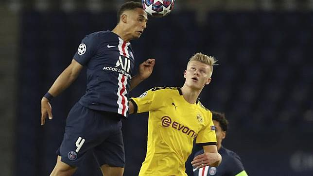 Singkirkan Dortmund, Pemain PSG Ejek Selebrasi Gol Erling Haaland