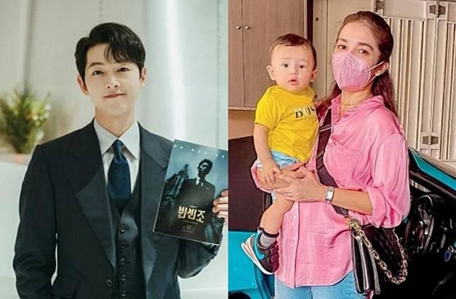 Song Joong Ki dan Ussy Sulistiawaty (Instagram.com)