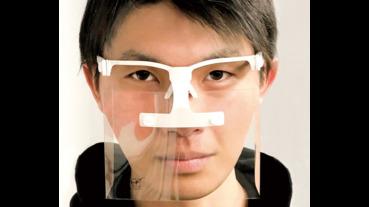 專業模型品牌推出預防粉塵飛沫面罩