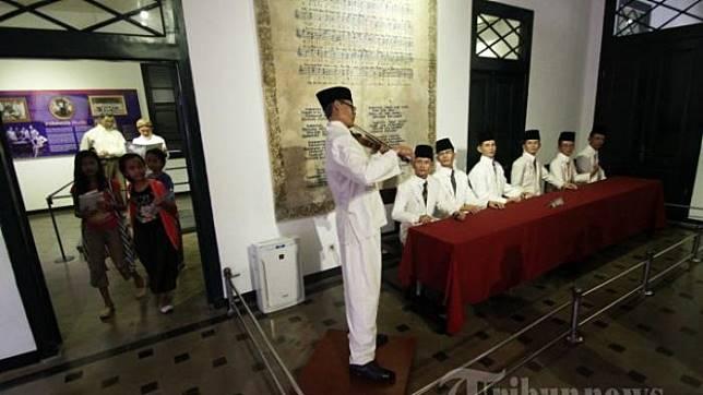 Ruang Kongres Sumpah Pemuda Hari Sumpah Pemuda Yuk Jelajahi Museum Sumpah Pemuda Indonesia Di Jakarta Tribun Travel Line Today