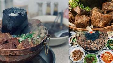 台中「清真恩德元餃子館」最出名反而是牛肉鍋,澎湃分量、人間美味,直接PK台南牛肉湯