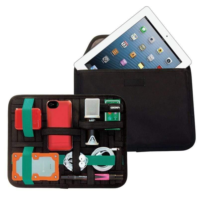 生活在數位化時代,意味著不僅要帶著錢包和鑰匙,還有充電器,耳塞,手機...等等各種產品。要妥善整理的確不容易,而Cocoon創新且獨特的GRID-IT!™設計,讓一切都變的很容易,也兼具保護產品的功能
