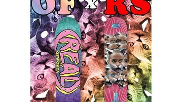 Odd Future for Real Skateboards 聯名單品