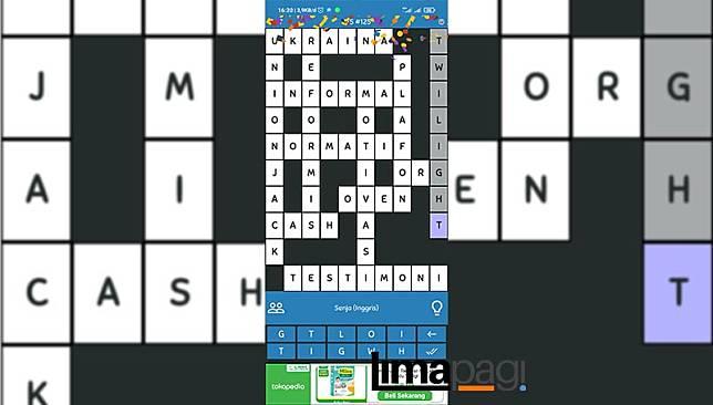kunci jawaban tts pintar level 125