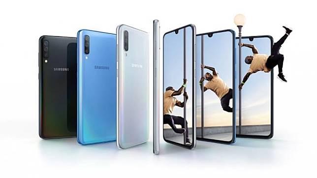 Samsung Galaxy A70. (Samsung Indonesia)