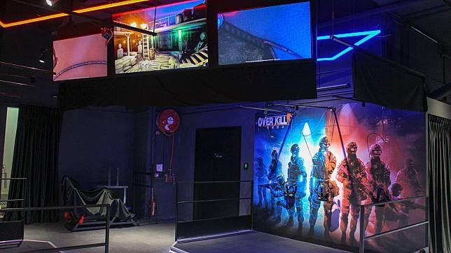 $240可玩到多款槍擊對戰、鬼屋和喪屍VR game,算是十分抵玩。