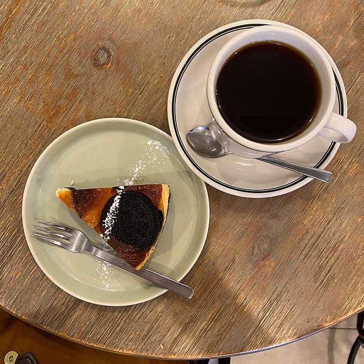 ユーザーが投稿したオレオチーズケーキの写真 - 実際訪問したユーザーが直接撮影して投稿した新宿カフェオールシーズンズ コーヒーの写真