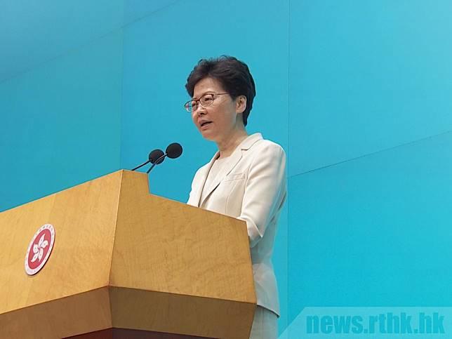 民主派批評林鄭月娥根本無回應星期日遊行的五個訴求。