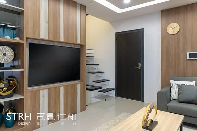 實品屋裝潢實例一:溫馨木質小公寓