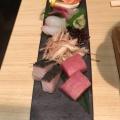 鮮魚五種盛合せ - 実際訪問したユーザーが直接撮影して投稿した新宿魚介・海鮮料理銀波 新宿東口店の写真のメニュー情報