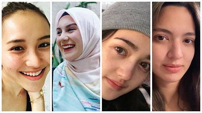 4 Artis Yang Dipuji Lebih Cantik Tanpa Make Up Dari Ayu Ting Ting Hingga Nia Ramadhani Apa Iya Tribun Style Line Today