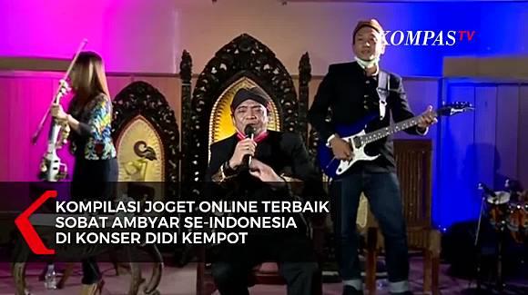 Kompilasi Joget Online Sobat Ambyar Se Indonesia Di Konser Didi Kempot