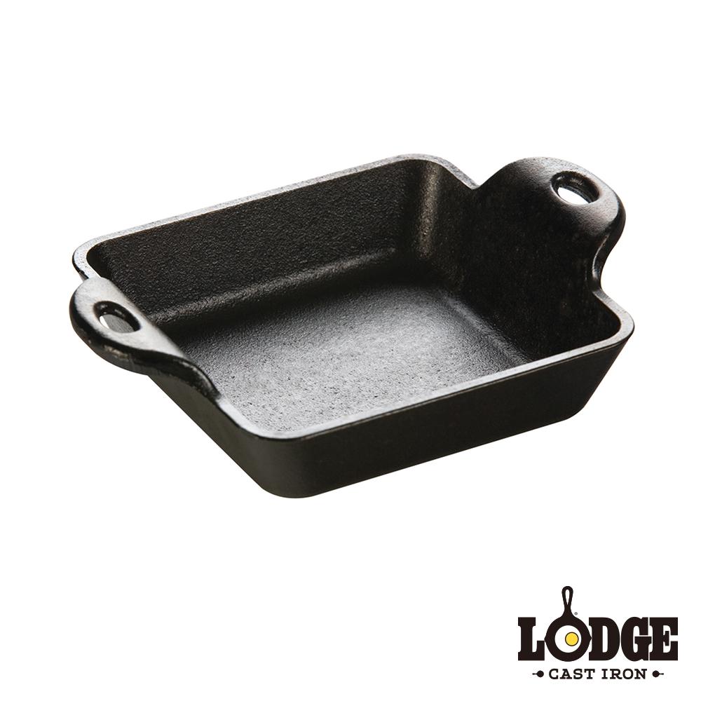 【美國Lodge】鑄鐵方型迷你烤盤(10盎司)