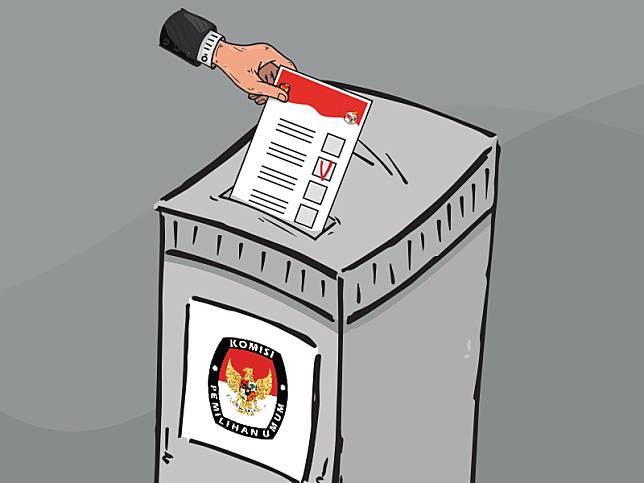 Jumlah Maksimal Pemilih dalam Satu TPS Hanya 12 Orang