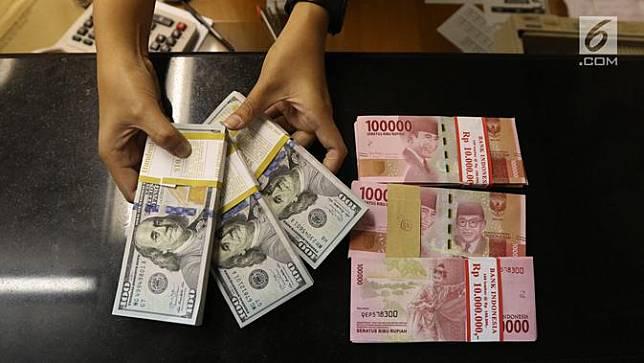 Rupiah Menguat di Level Rp14.264 per Dolar AS