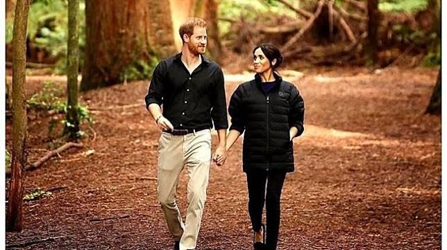 Pangeran Harry dan Meghan Markle. (Instagram/@sussexroyal)
