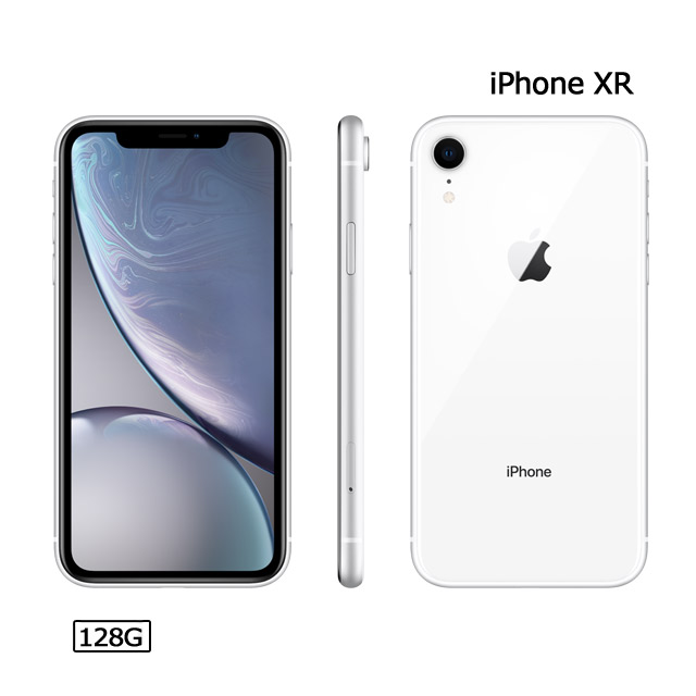Apple iPhone XR (128G)-白色(MRYD2TA/A)
