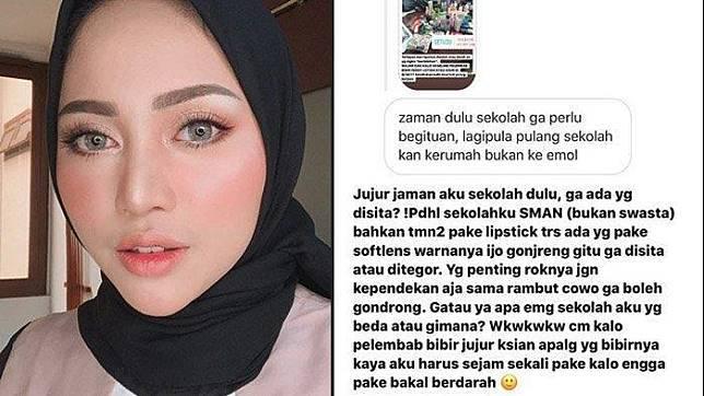 Rachel Vennya Viralkan Tingkah OSIS Razia Produk Skincare Siswa, Tak Setuju: Kesehatan Kulit Hancur! Foto: Instagram.com/rachelvennya