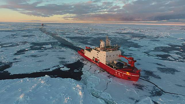'มังกรหิมะ 2' เรือตัดน้ำแข็งขั้วโลกฝีมือจีน เข้าอู่บำรุง เตรียมลุยอาร์กติก