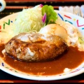 デミ玉ハンバーグ - 実際訪問したユーザーが直接撮影して投稿した新宿洋食はやしやの写真のメニュー情報