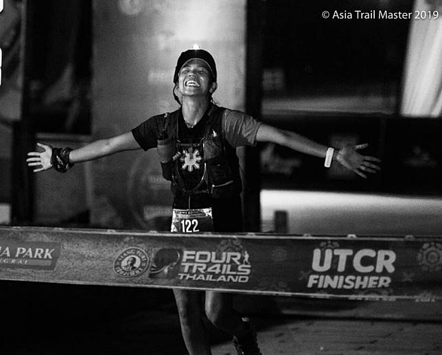 Fredelyn Alberto inspires domestic helpers globally by running the Asia Trail Master, showing 'you have to make time'