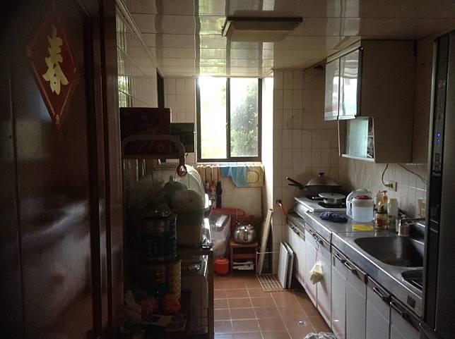 廚房改造案例三:改造前