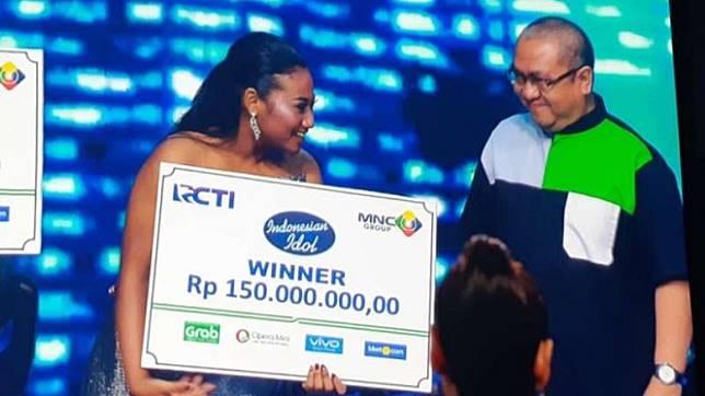 Maria Simorangkir, Juara Indonesian Idol 2018