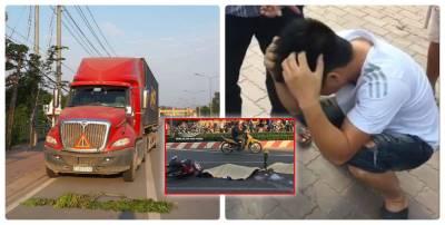 Hé lộ 'hung thủ' khiến vợ chồng trẻ chết tức tưởi dưới gầm container: Không phải tài xế?