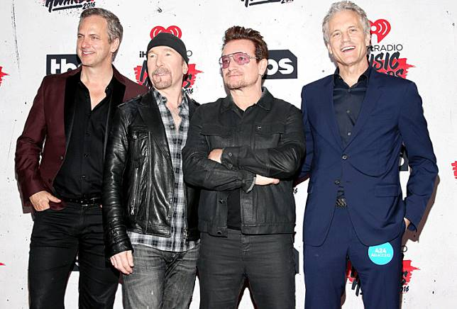 Guess what: U2 tops Forbes' highest-paid musicians list