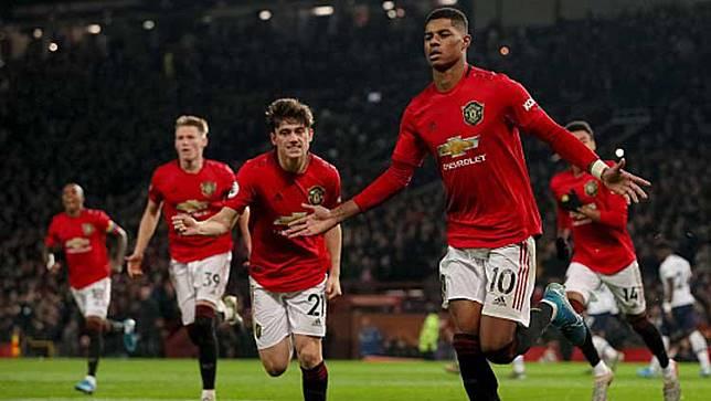 Rashford Cedera, Manchester United Sewa Pengganti Sampai Akhir Musim