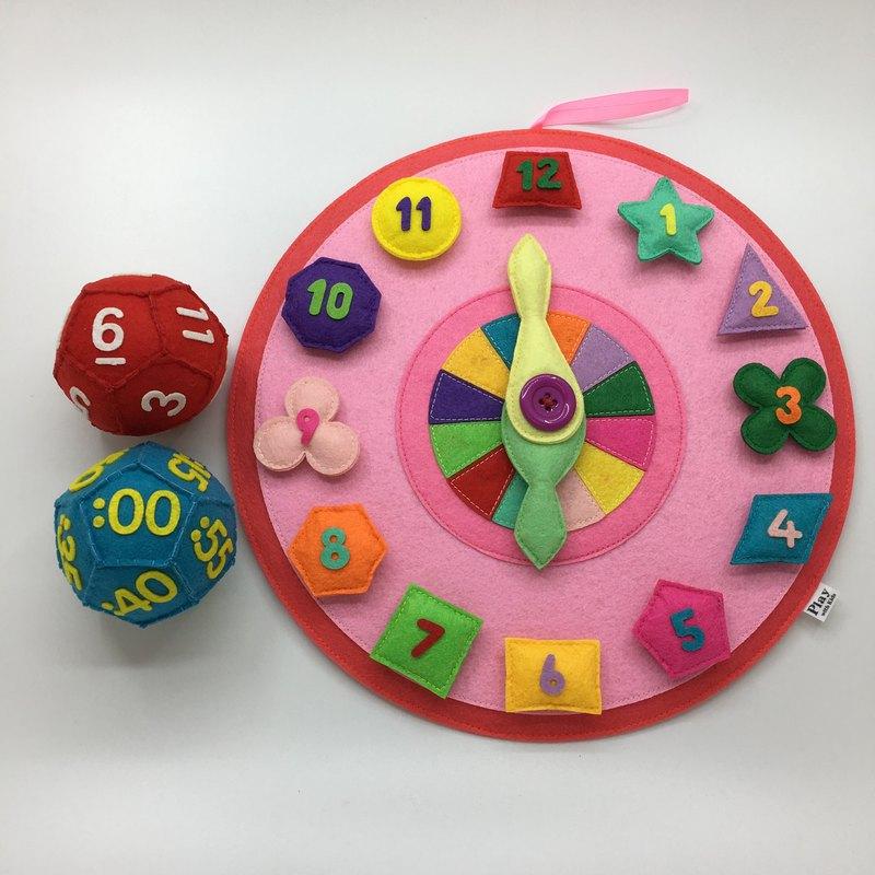 內含學習時鐘X1、時間骰仔X1