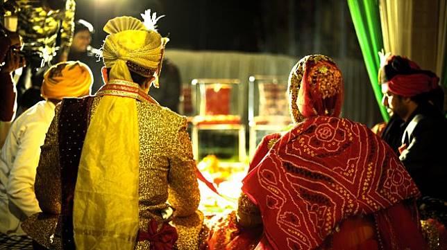 Ilustrasi pernikahan di India. (Pexels/Viresh Studio Photo)