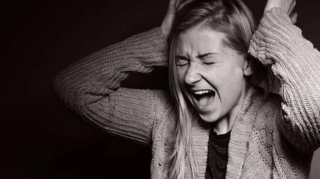 Ilustrasi perempuan kesurupan. (Shutterstock)