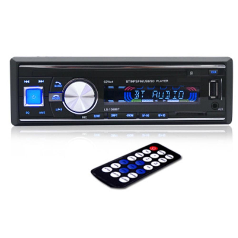 產品基本功能介紹*支援藍牙免提通話*進口 TDA7388 功率IC*關機時間顯示功能*大功率4*50W輸出*前後AUX音訊輸入,可手機、MP3/MP4/MP5/導航等音訊通過機器在車內播放*一鍵靜音,