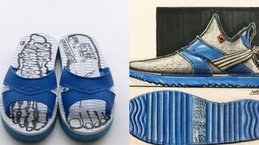 這設計只能給滿分!「當經典藍白拖變成球鞋」這顏值可能超過你的想像!