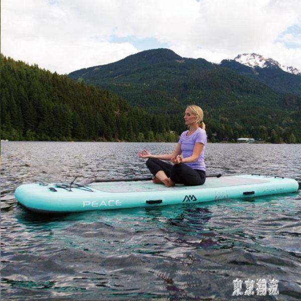 靜謐號Peace水上瑜伽板sup槳板滑水板劃水沖浪板專業海邊衝浪滑板