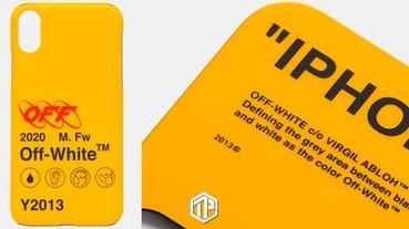 Off-White™ 推出全新工業風格 iPhone Case!