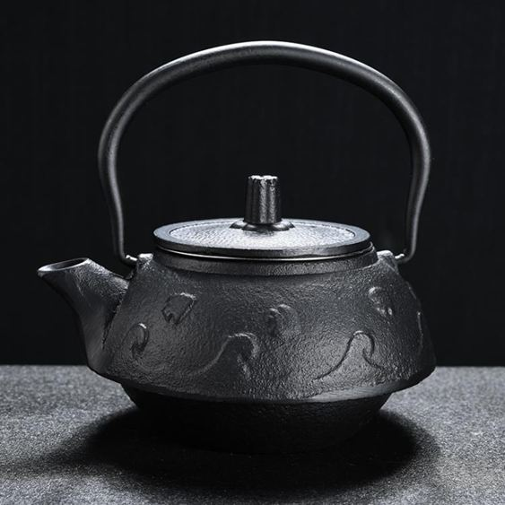 美閣日式鑄鐵壺煮茶器茶具家用燒水壺日本南部泡茶壺功夫簡約茶道