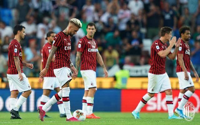 Mantan Pemain :Penampilan Milan Vs Udinese Sangat Memalukan