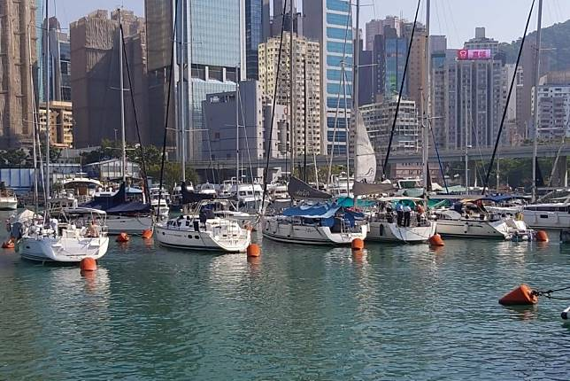 hong kong police investigate death of crewman who fell from yacht