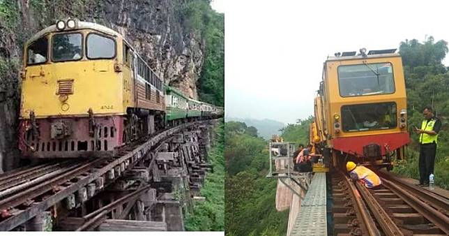 15 Jalur kereta api berbahaya di dunia, 5 ada di Indonesia