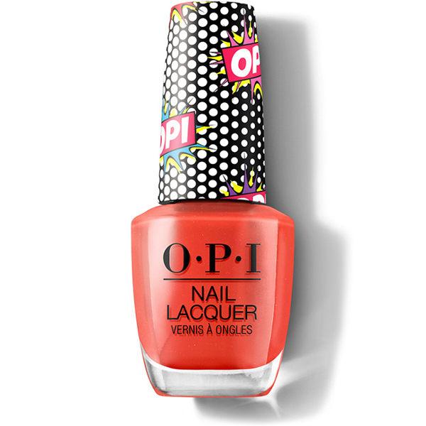 OPI 彩虹氣泡酒 紅色高跟鞋 指甲油 NLP49 P49