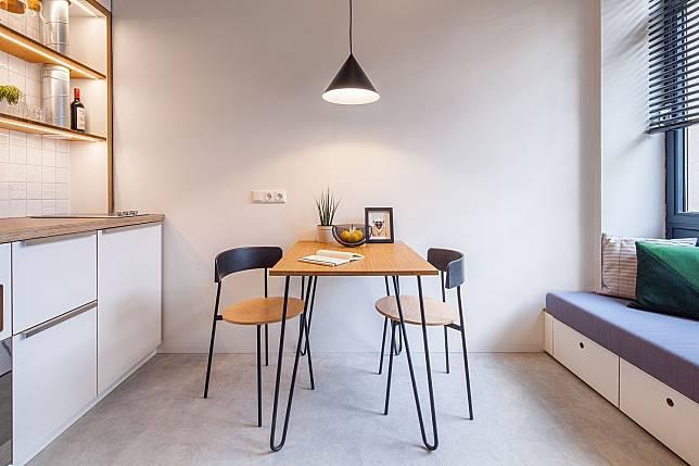 3 Inspirasi Desain Ruang Makan untuk Apartemen yang Mampu Menghemat Ruang