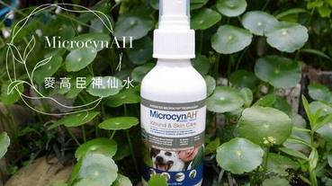 MicrocynAH麥高臣神仙水 內含三效次氯酸 美國GMP藥廠製造 人及寵物皆可安心使用 噴一噴沒有菌沒有臭 外出居家都可以放心啦