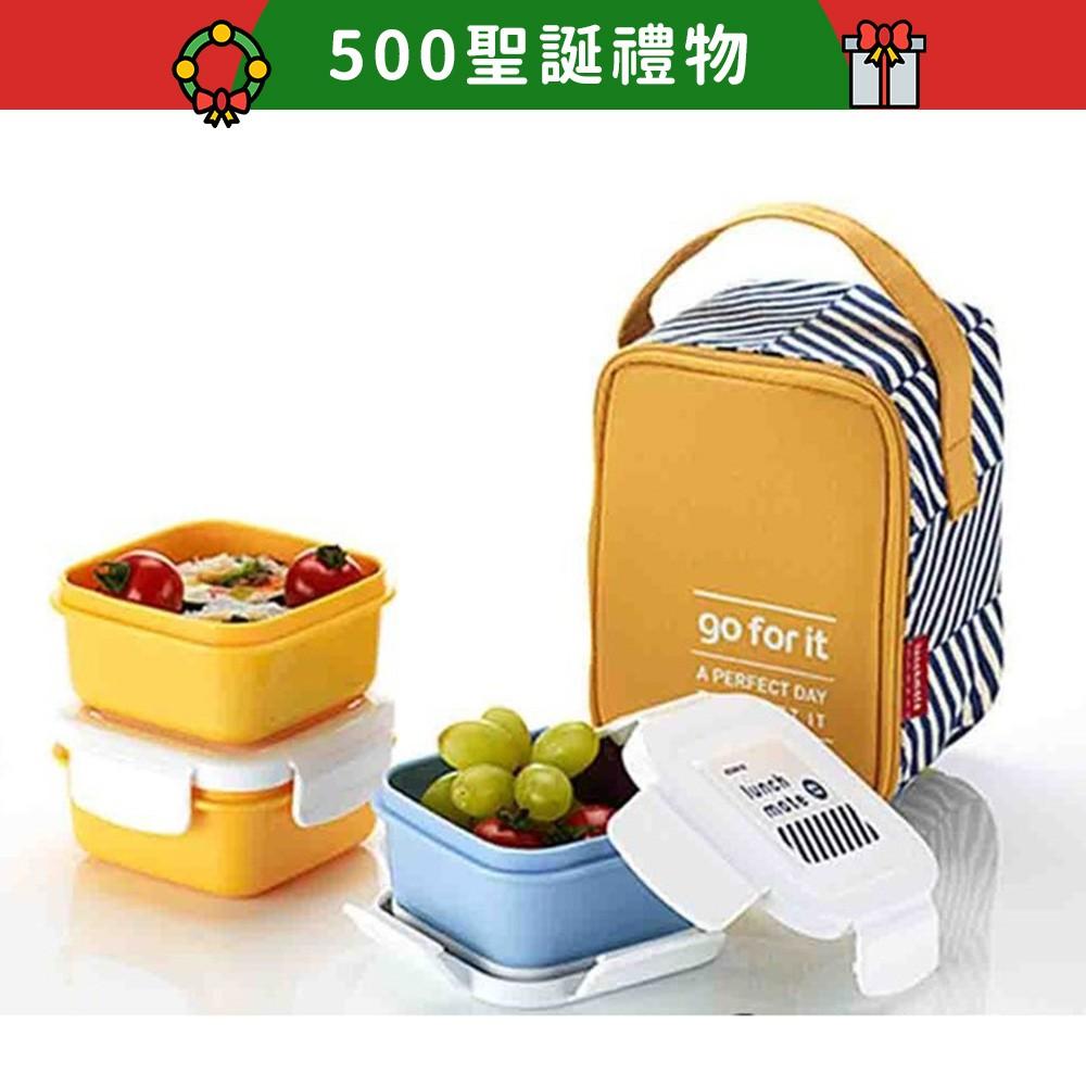 韓國創意生活家居品KOMAX,想看更多請點#PAW_KOMAX-- 組合式三層餐盒組- 日常便當、野餐皆方便- 材質安全,無雙酚A- 附提袋,攜帶便利- 韓國製造野餐盛裝熟食、甜點、水果…等,時尚三件
