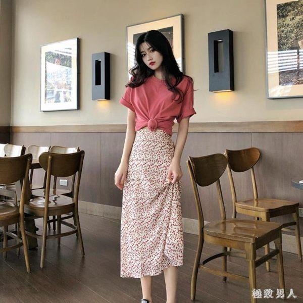 法式復古裙網紅女神很仙裙子套裝心機上衣兩件套法國小眾洋氣時尚TA5478【極致男人】