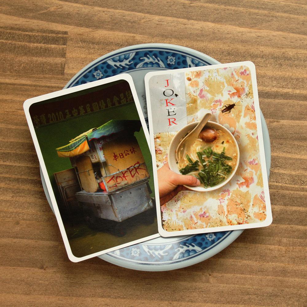 《來偶的透天厝》miin gift台灣小吃撲克牌