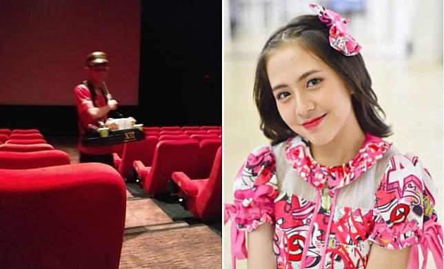 Viral, Curhatan Penjual Popcorn di Bioskop yang Sering Diejek dan Dikerjai ABG hingga Bisa Bertemu Zara JKT48