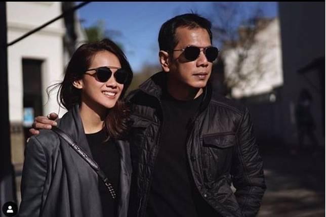Gista Putri dan Wishnutama(Tangkapan layar akun Instagram Gista Putri)  Artikel ini telah tayang di Kompas.com dengan judul