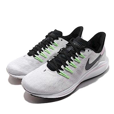 品牌: NIKE型號: AH7858-002品名: Wmns Nike Air Zoom Vomero 14配色: 灰色 黑色特點: 運動 氣墊 避震 路跑 健身房 透氣 舒適 灰 黑